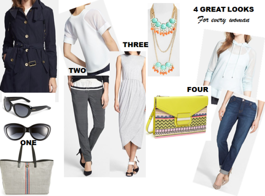 4 Great Looks for Every Woman!